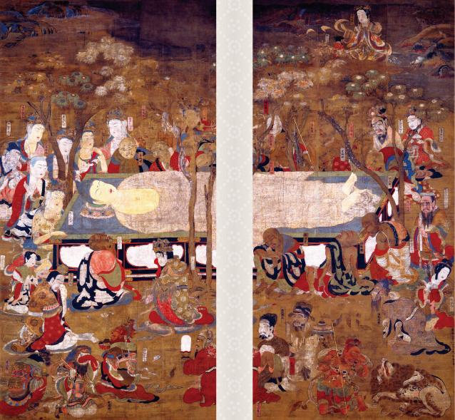 国宝 仏涅槃図